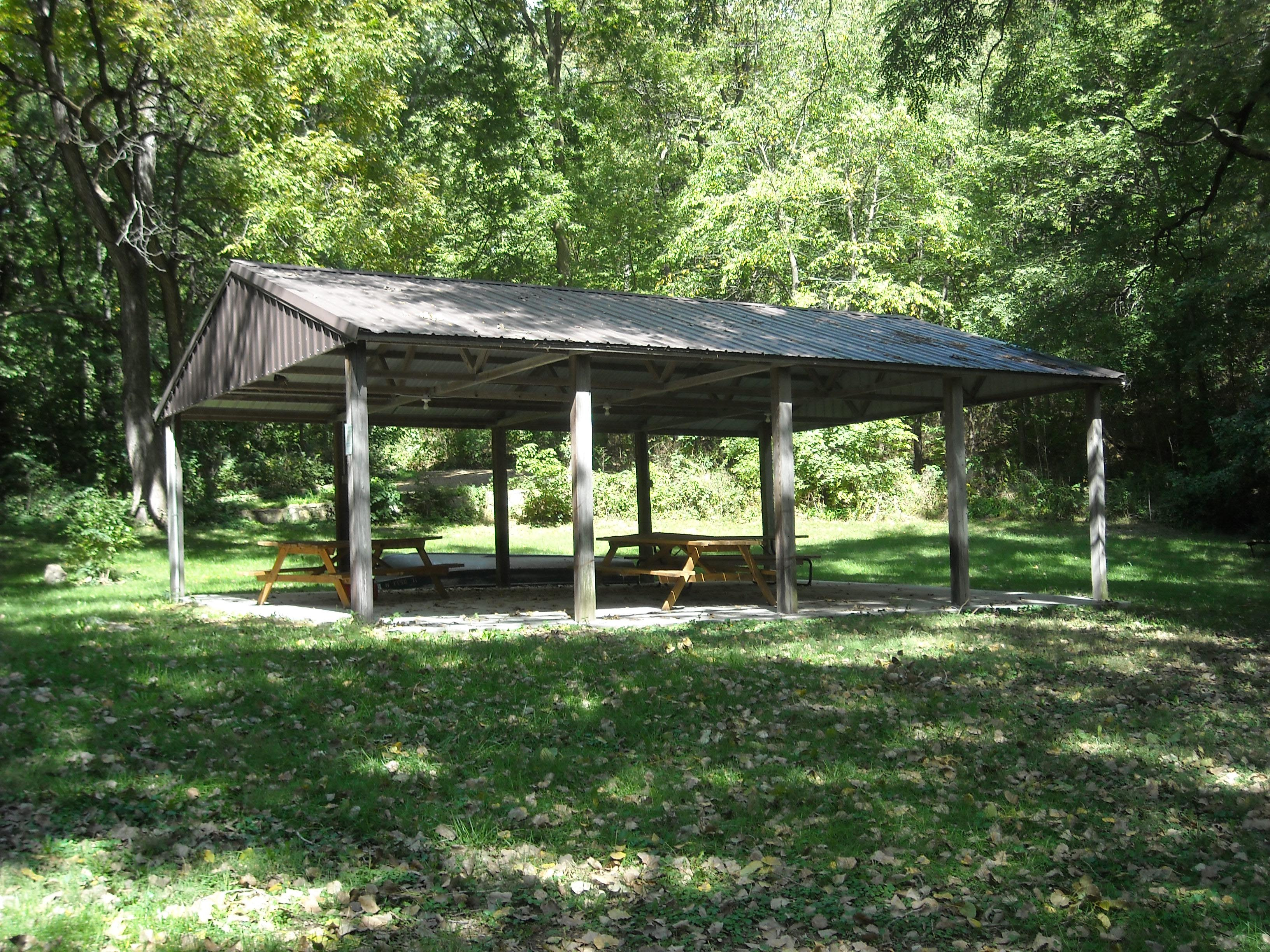 Picnic Shelter at Riverfront